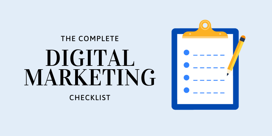 Marketing Discovery Checklist